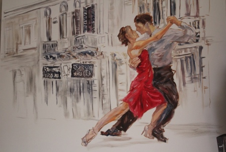 tango 1,4x1m, Dimitrov art gallery, Dullstroom